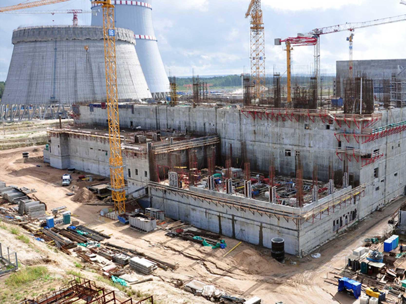 Поставка 10 000 м3 бетона на ЛАЭС-2